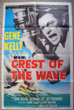 Crest of the Wave Film Poster Gene Kelly - One Sheet